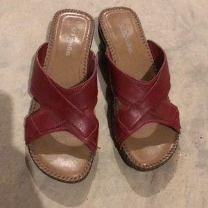 St. John's Bay Sandals Size 9.5